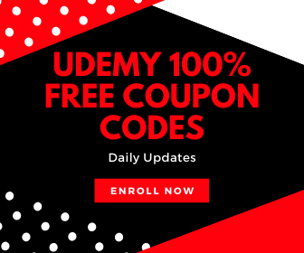 Udemy 100% FREE COUPON CODES